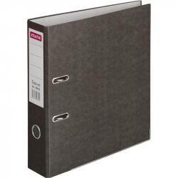 Папка-регистратор с арочным механизмом Attache Colored (75мм, черная, 50шт/уп)