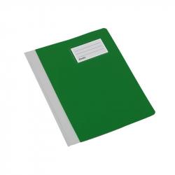 Папка-скоросшиватель Bantex Manager (A4, зеленый, с отделением д/визитки)
