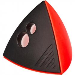Точилка Attache Mercury с контейнером красная/черная