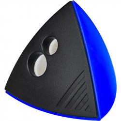 Точилка Attache Mercury с контейнером синяя/черная