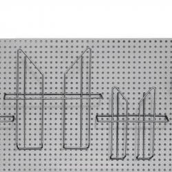 Карман навесной для стойки Комус Парус (А4, проволочный)