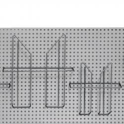 Карман навесной для стойки Комус Парус (А5, проволочный)