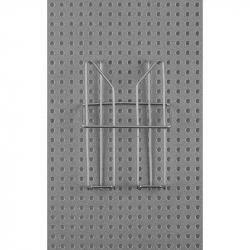 Карман навесной для стойки Комус Парус (1/3 А4, проволочный)
