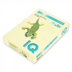 Бумага цветная IQ Color (А4, 80 г/м2, YE23-желтый, 500 листов),