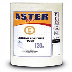 Полотенца бумажные д/держ. Aster Mini 231145 1-сл.белые 12рул./уп.