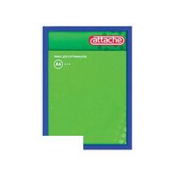 Рамка для сертификатов Attache 21х30см (пластик, защитное стекло, синяя)