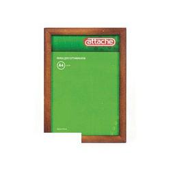 Рамка для сертификатов Attache 21х30см (сосна темная, защитное стекло)