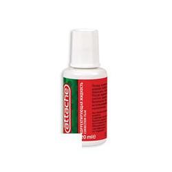 Корректирующая жидкость (штрих) Attache (20мл, быстросохнущая)
