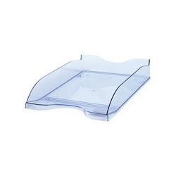 Лоток для бумаг Стамм ЛТ-603 тонированный голубой (2 штуки в упаковке),