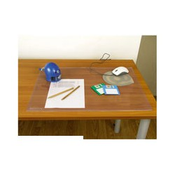 Коврик на стол Bantex 412208 (490х650мм, прозрачный, ПВХ)