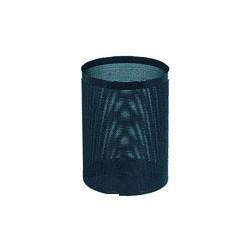 Корзина для бумаг металлическая (16л, черная решетчатая, 250ммх330мм)