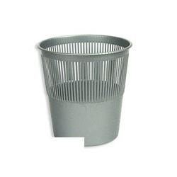 Корзина для бумаг 10л Uniplast КСУ-10 серая решетчатая