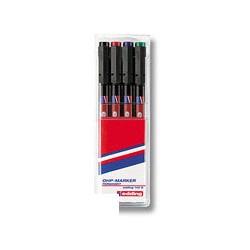 Набор маркеров для пленок Edding E-140 S/4 (0,3 мм.)