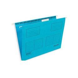 Подвесная регистратура папка BANTEX голубая Foolscap 25 шт. Дания