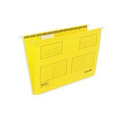 Подвесная регистратура папка BANTEX желтая Foolscap 25 шт. Дания