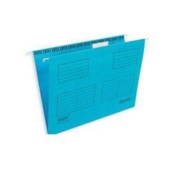 Подвесная папка Bantex (голубая, А4, 25 шт)