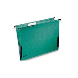 Подвесная папка Leitz (А4, боковой ограничитель, зеленая)
