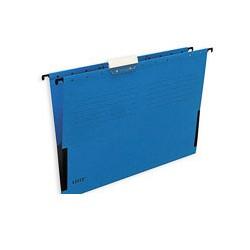 Подвесная папка Leitz (А4, боковой ограничитель, синяя)