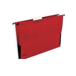 Подвесная папка Leitz (А4, боковой ограничитель, красная)