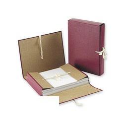 Папка архивная A4 (5см, c 4-мя завязками, бумвинил)