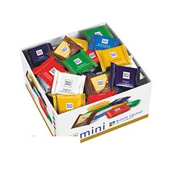 Шоколад Ritter sport мини-ассорти Bunter Mix (7вкусо, 84шт/уп)