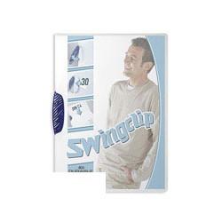 Папка с&nbsp-синим клипом Durable Swingclip
