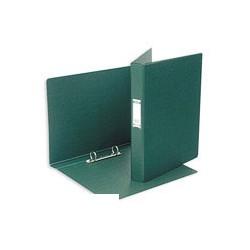 Папка на 2-х кольцах Bantex (А4, картон/пвх, тёмно-зеленая),