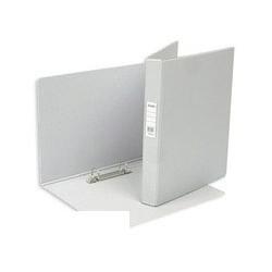 Папка на 2-х кольцах Bantex (А4, картон/пвх, серый),