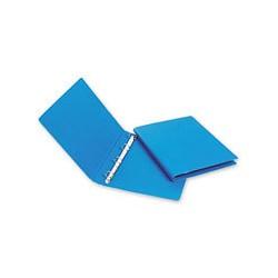 Папка на 2-х кольцах Bantex картон/пластик 35 мм синяя