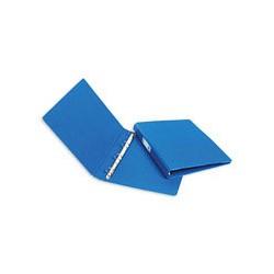 Папка на 4-х кольцах Bantex картон/пластик 35 мм синяя