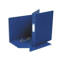 Папка на 2-х кольцах Bantex картон/пластик 35 мм темно-синяя