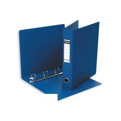 Папка на 4-х кольцах Bantex картон/пластик 50 мм синяя