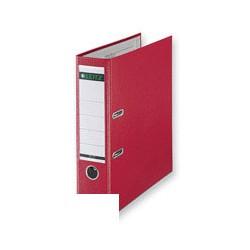Папка-регистратор с арочным механизмом A4 Leitz L-1010 (80мм, красная, вертикальная, 50шт/уп)