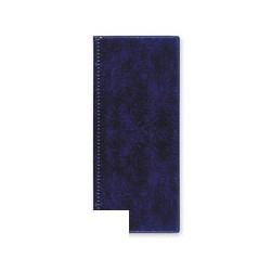 Визитница на 96 визиток (ПВХ, синий)