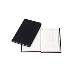 Алфавитная книжка Attache Вива (А5, 202х133мм, кожзам, черный)