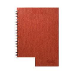 Бизнес-тетрадь Attache Style (A4, клетка, спираль, 120 листов)