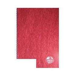 Бизнес-тетрадь Attache (A4, клетка, спираль, 120 листов)