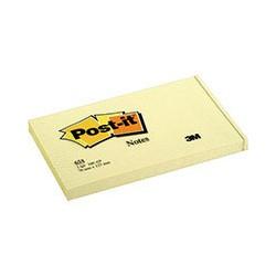 Бумага для заметок 3M Post-it 655 (желтая, 76 -127мм, 100 листов)