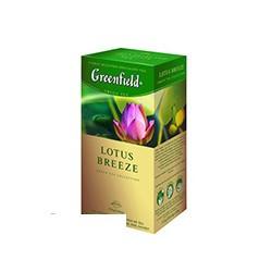 Чай зеленый Greenfield Lotus Breeze (25 пакетиков в упаковке)