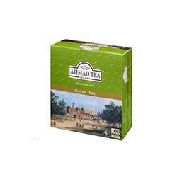 Чай зеленый Ahmad Tea Green (100 пакетиков в упаковке)