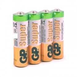 Элементы питания батарейка GP Super эконом упак AA/LR6/15A алкалин. 4 шт/уп