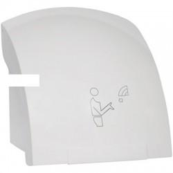 Сушилка электрическая для рук автомат, 2 кВт, пластик., белая, Китай