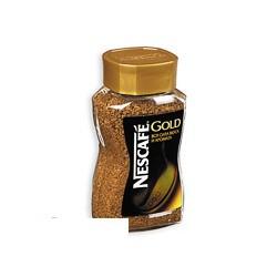Кофе растворимый Nescafe Gold, 95г, сублимированный в стеклянной банке
