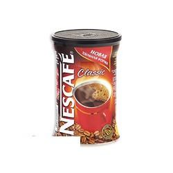 Кофе растворимый Nescafe Classic, 250г, гранулированный в жестяной банке
