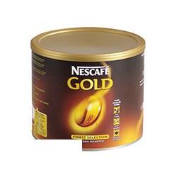 Кофе растворимый Nescafe Gold, 500г, сублимированный в жестяной банке