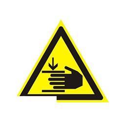 W27 Осторожно! Возможно травмир-е рук(плёнка,200х200)