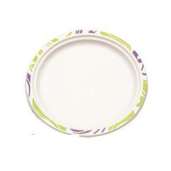 Тарелки одноразовые (240мм, бумажные, белые, 50 шт/уп)