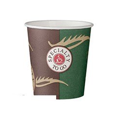 Стакан одноразовый бумажный Coffee-to-Go 100мл, 80 шт./уп.