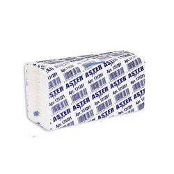 Полотенца бумажные для держателей Aster Pro 131281 C (белые, 2-слойные, 153 листа в упаковке)