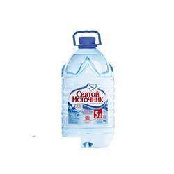 Вода питьевая Святой Источник (5л, 2шт/уп)